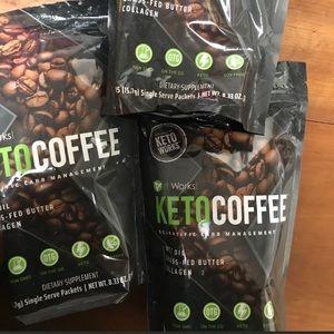 Keto coffee pack of 3